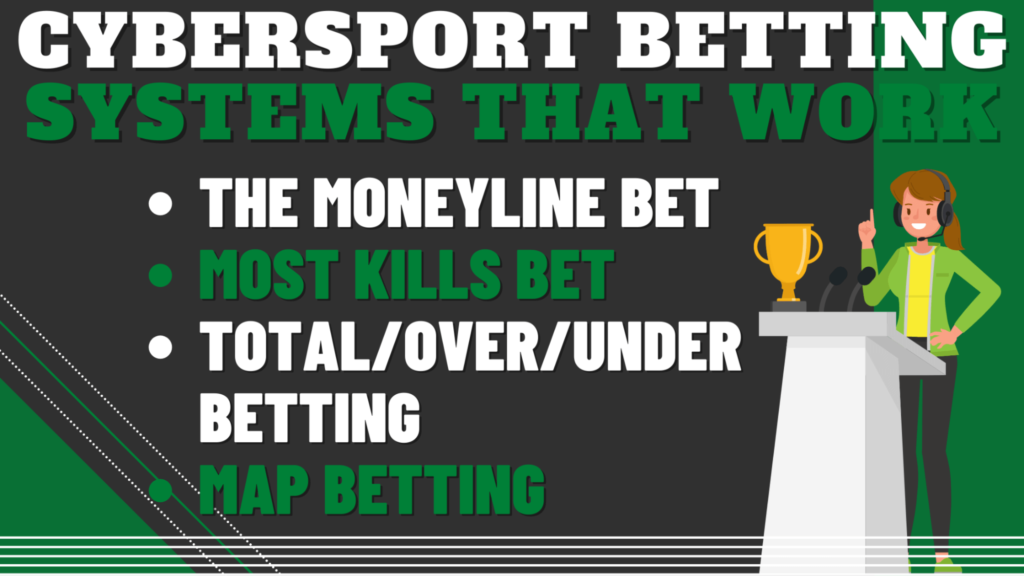 Some Cybersport Betting Systems that work