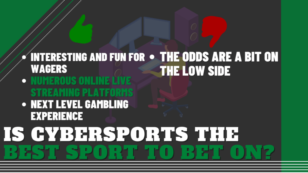 Is Cybersports the Best Sport to Bet On?