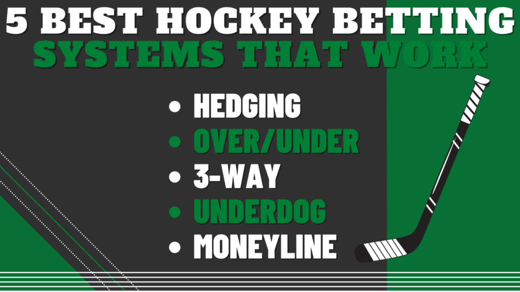 5 Best Hockey Betting Systems That Work