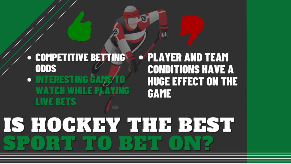Is Hockey the Best Sport to Bet On?
