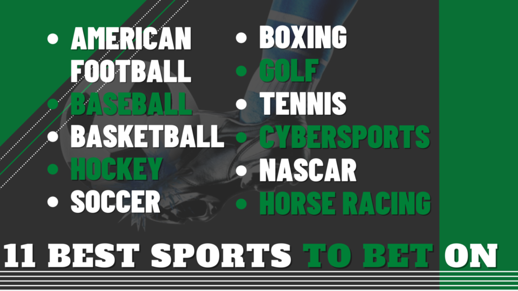 11 Best Sports to bet on