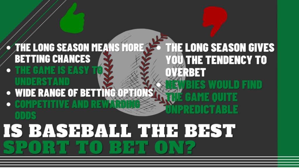 Is Baseball the Best Sport to Bet On?
