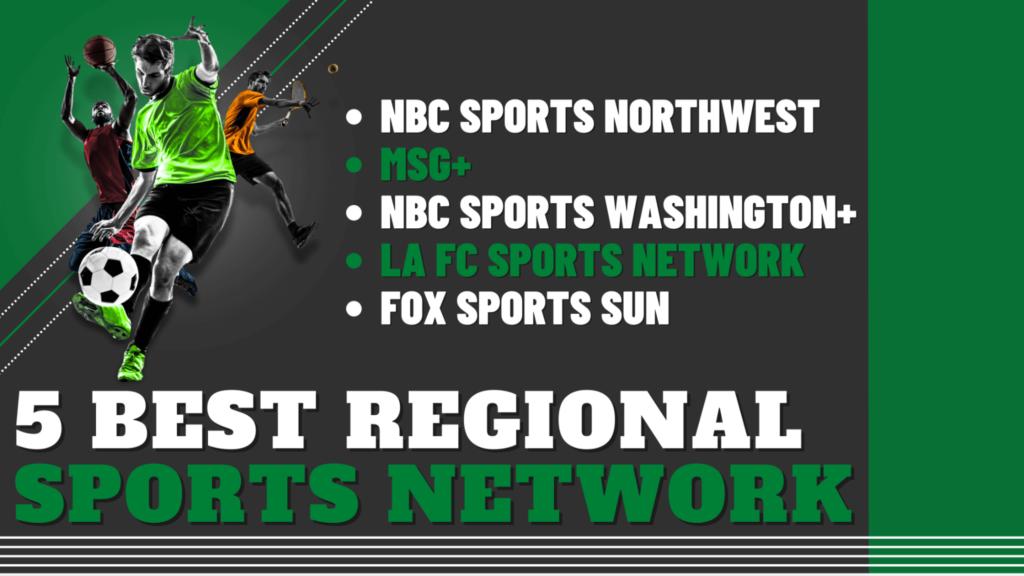 5 Best Regional Sports Network