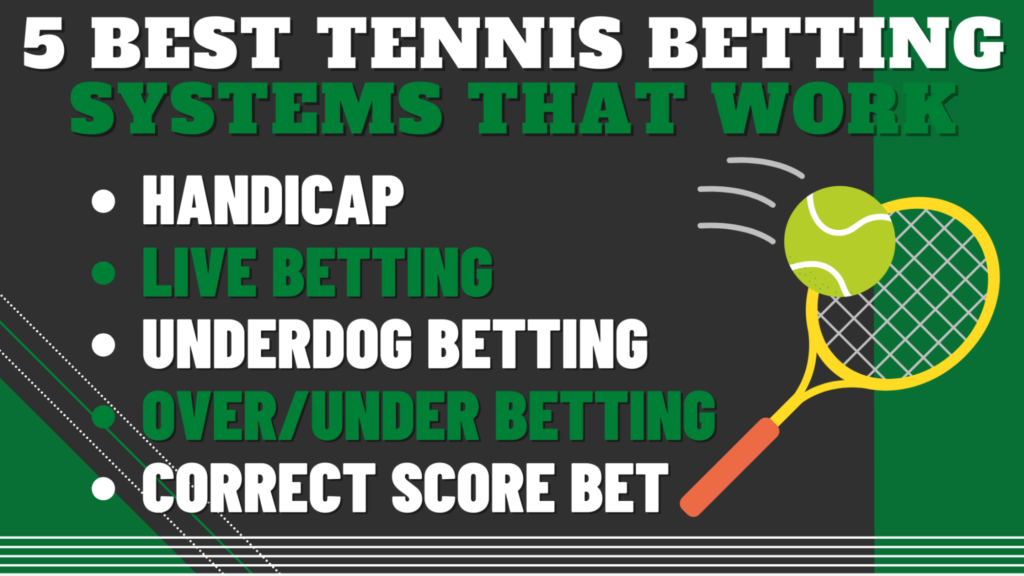 5 Best Tennis Betting Systems that Work
