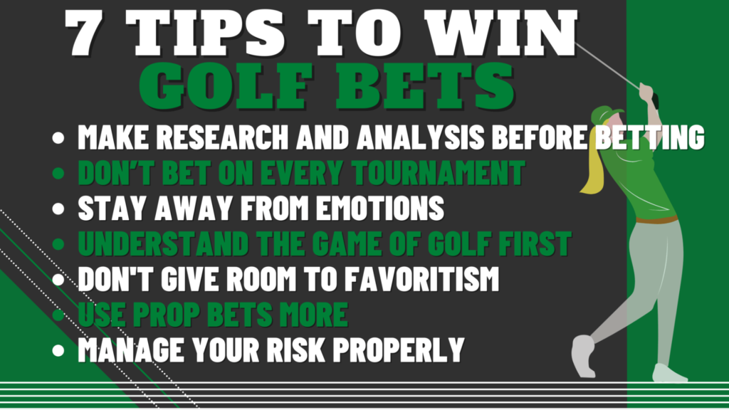 7 Tips To Win Golf Bets