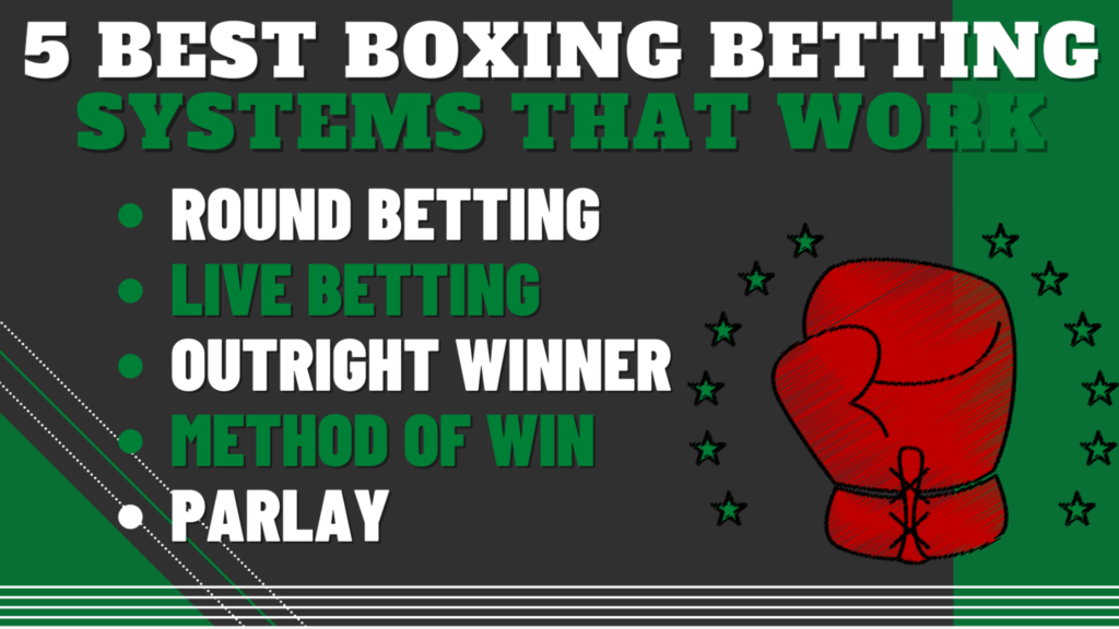 5 Best Boxing Betting Systems that Work