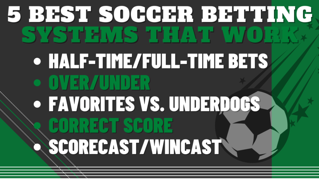 5 Best Soccer Betting Systems That Work