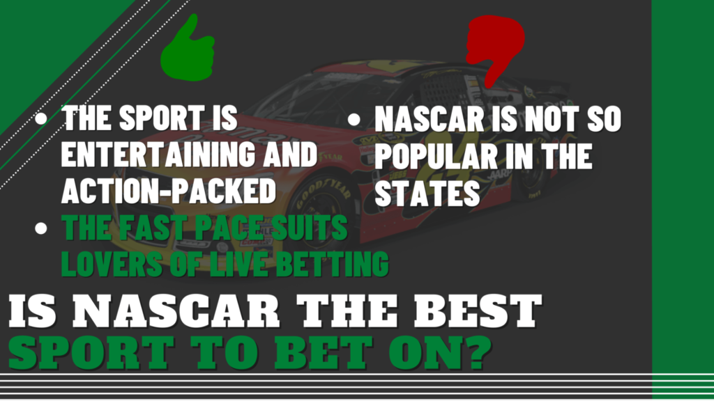 Is NASCAR the Best Sport to Bet On?